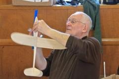 SOGGI member & former president, Ray Munro making sawdust