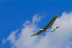 Adam's Sagitta in flight.