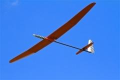 Bob's Supra in flight.